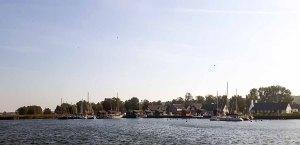 Blick auf den Hafen von Gager (c) Frank Koebsch