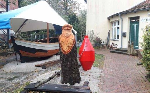 Boot des Heimatmuseums Graal Müritz (c) Frank Koebsch