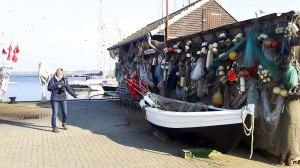 Entdeckungen in der Traditionsecke des Fischereihafens von Gager (c) FRank Koebsch (2)
