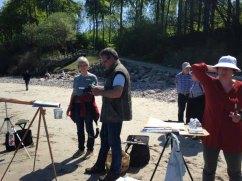 Malen am Strand von Heiligendamm (c) Kirsten Paulsen (9)