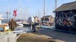 Motivsuche im Hafen von Gager (c) FRank Koebsch