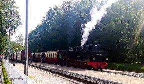 Pause auf dem Bahnhof von Heiligendamm (c) FRank Koebsch (1)