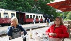 Pause auf dem Bahnhof von Heiligendamm (c) FRank Koebsch (4)