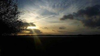 Sonnenuntergang über der Müritz (c) Frank Koebsch (1)