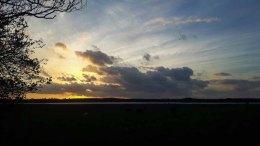 Sonnenuntergang über der Müritz (c) Frank Koebsch (2)
