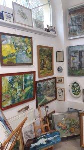 Verkaufsausstellung von Joachim Weyrich im Heimatmuseum Graal Müritz (c) FRank Koebsch (1)
