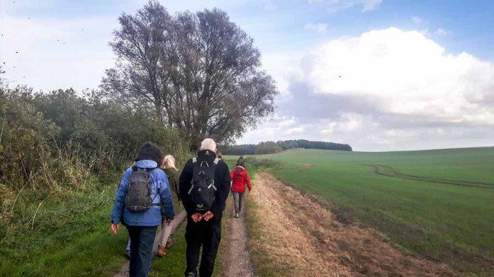 Wanderung zum NSG Groß Schwerin (c) FRank Koebsch