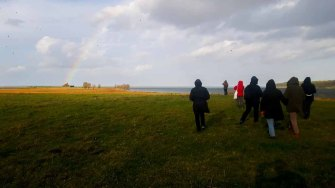 Wanderung zur Naturschutzstation auf dem Großen Schwerin an der Müritz (c) FRank Koebsch