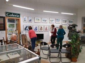 Besucher unserer Ausstellung im Heimatmuseum Graal Müritz (c) Frank Koebsch (2)