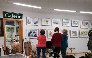 Besucher unserer Ausstellung im Heimatmuseum Graal Müritz (c) Frank Koebsch (3)