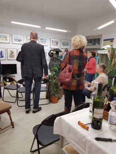 Besucher unserer Ausstellung im Heimatmuseum Graal Müritz (c) Frank Koebsch (4)