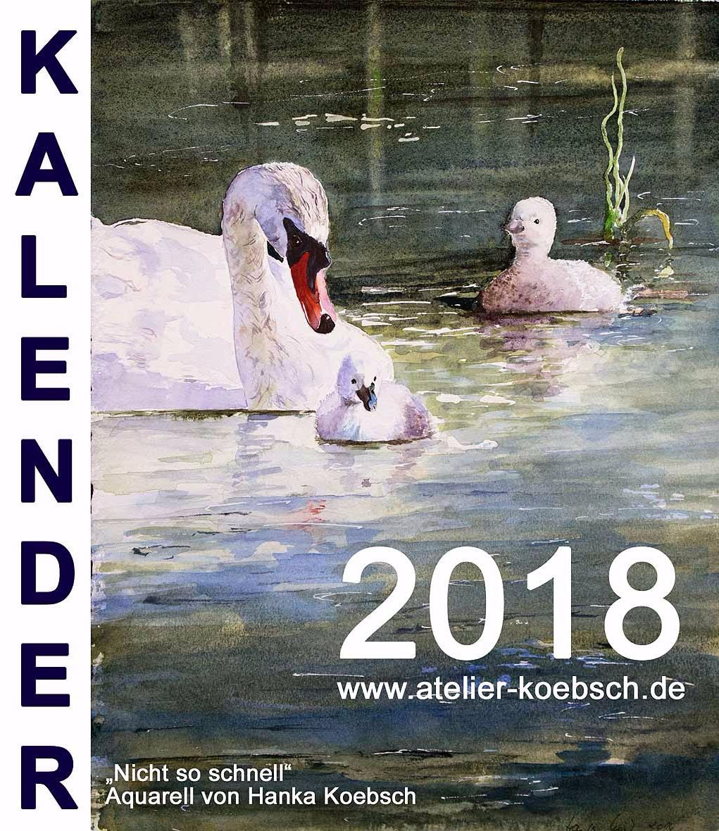 Deckblatt Kalender 2018