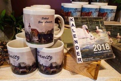 Tassen und Kalender mit Motiven von unseren Aquarellen (c) Frank Koebsch (1)