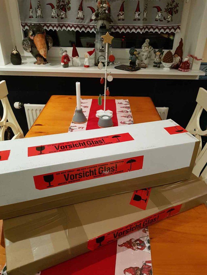 Verpackte Drucke als Weihnachtsgeschenke (c) FRank Koebsch