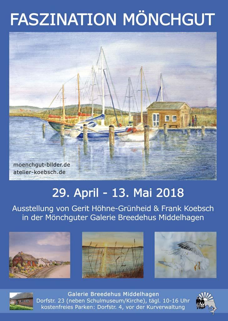Ausstellung Faszination Moenchgut 2018 von Gerit Höhne-Grünheid und Frank Koebsch