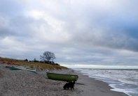 Fischerboote am Strand von Ahrenshoop (c) Frank Koebsch