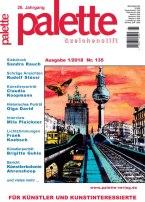 Palette 01 2018 - Deckblatt- Wenn es dunkel wir in der Stadt - Aquarelle mit besonderen Lichtstimmungen - Frank Koebsch