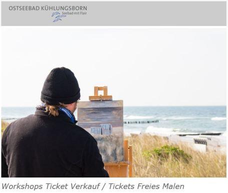 Buchungsstart für das Pein Air Festival 2018 – Malen an der Ostsee