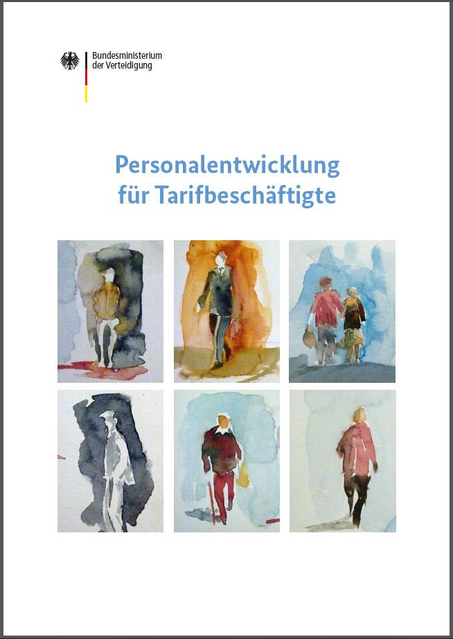 """Titelseite der Broschüre des Bundesministeriums der Verteidigung """"Personalentwicklung für Tarifbeschäftigte"""""""