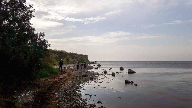 Malen am Strand vom Reddevitzer Höft (c) FRank Koebsch (8)