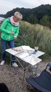 Malen auf den Boddenwiesen am Having bei Alt Reddevitz (c) FRank Koebsch (7)