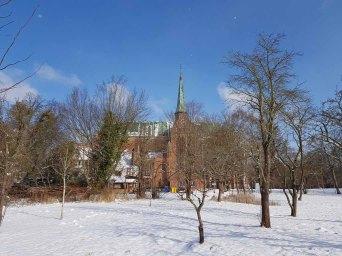 Doberaner Münster im Schnee (c) FRank Koebsch (1)