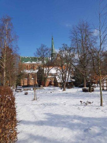 Doberaner Münster im Schnee (c) FRank Koebsch (2)