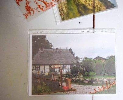 Einteilung eines Motiv in Vorder- Mittel- u Hintergrund im Workshop des BDK - Landschaftsmalerei mit FRank Koebsch (c) Ralf Manfeufel