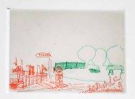 Folien - Ebenen mit einem Vorder- und einem Mittelgrund im Workshop des BDK - Landschaftsmalerei mit FRank Koebsch (c) Frank Koebsch