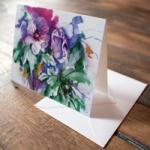 Kunstkarte mit Umschlag von unseren Aquarellen (c) Frank Koebsch