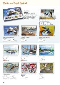 Kunstkarten vin Hanka & Frank Koebsch im Frühjahrsprogramm 2018 des Präsenz Verlages S 42