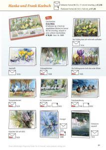 Kunstkarten vin Hanka & Frank Koebsch im Frühjahrsprogramm 2018 des Präsenz Verlages