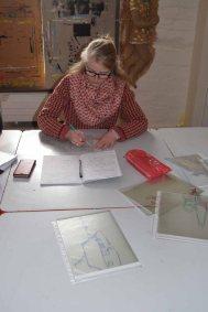 Teilnehmerinnen im Workshop des BDK - Landschaftsmalerei mit FRank Koebsch (c) Ralf Manfeufel (2)