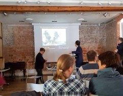 Vortrag von Dr Gero Seelig zur Niederländischen Landschaftsmalerei und ihrem Hintergrund (c) Frank Koebsch