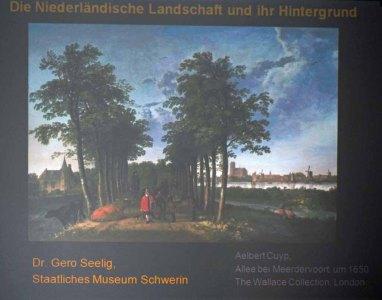 Vortrag von Dr Gero Seelig zur Niederländischen Landschaftsmalerei und ihrem Hintergrund (c) Ralf Manteufel (1)