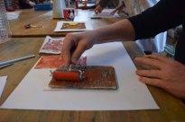 Workshop des BDK - Gelatine Druck mit Christine Donath (c) Ralf Manteufel (1)