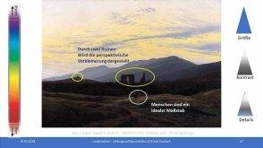 Workshop des BDK - Landschaften wirkungsvoll gestalten - Caspar David Friedrich - Klosterruine Eldena und Riesengebirge (c) FRank Koebsch