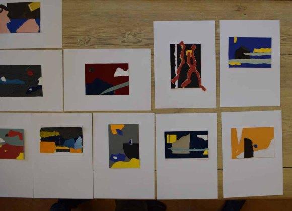 Workshop des BDK - Von der Collage zur Malerei mit Sylvia Dallmann (c) Ralf Manteufel (7)