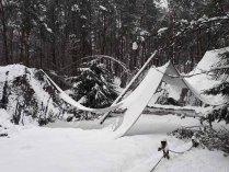 Wildpark-MV - eingestürzte Uhu-Voliere (1)