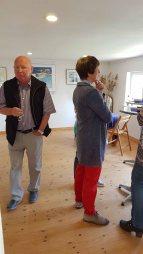 Besucher unserer Ausstellung Faszination Mönchgut im Bredehaus Middelhagen (c) Frank Koebsch (1)