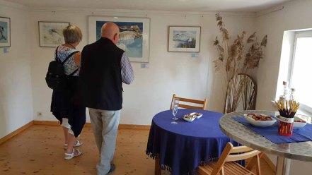 Besucher unserer Ausstellung Faszination Mönchgut im Bredehaus Middelhagen (c) Frank Koebsch (3)