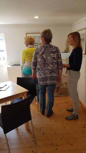 Besucher unserer Ausstellung Faszination Mönchgut im Bredehaus Middelhagen (c) Frank Koebsch (6)