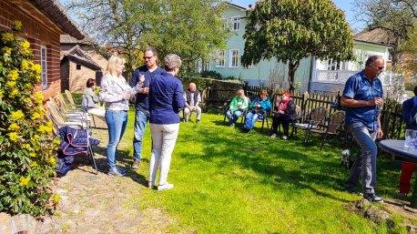 Besucher unserer Ausstellung Faszination Mönchgut im Bredehaus Middelhagen (c) Frank Koebsch (8)
