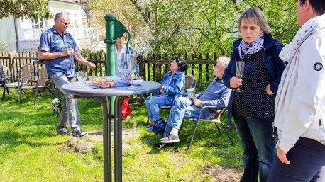 Besucher unserer Ausstellung Faszination Mönchgut im Bredehaus Middelhagen (c) Frank Koebsch (9)