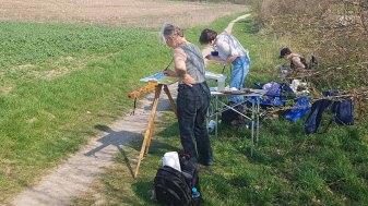 Malen am Leutturm von Bastorf (c) Frank Koebsch (3)