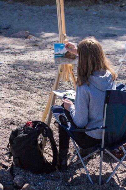 Plein Air Festival 2018 - Ölmaler am Strand von Heiligendamm (c) Frank Koebsch (10)