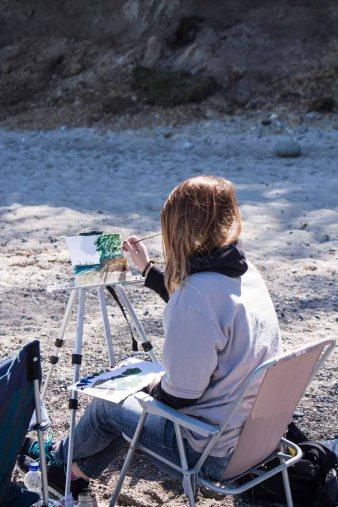 Plein Air Festival 2018 - Ölmaler am Strand von Heiligendamm (c) Frank Koebsch (11)