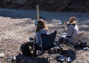 Plein Air Festival 2018 - Ölmaler am Strand von Heiligendamm (c) Frank Koebsch (12)