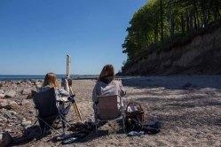 Plein Air Festival 2018 - Ölmaler am Strand von Heiligendamm (c) Frank Koebsch (13)