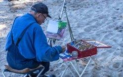 Plein Air Festival 2018 - Ölmaler am Strand von Heiligendamm (c) Frank Koebsch (14)